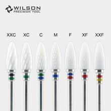 Пуля Форма-6,0 мм крест-Белый циркония Керамика Стоматологические Лаборатории Заусенцы-WILSON прецизионных инструментов