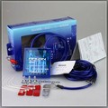 Blue Power Voltage PIVOT MEGA RAIZIN Fuel Saver Voltage Stabilizer Regulator Grounding + 3 Earth Ground wire