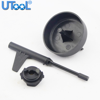 3Pcs Car Transmission Oil Adaptor Tool Set For Mercedes Benz E350 9G Tronic Transmission 725 Auto Oil Drain and Refill Kit