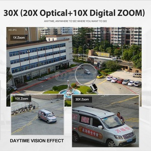 Image 3 - 1080P PTZ Dome IP Camera 30X ZOOM Outdoor Onvif Waterproof 4MP 5MP Mini Speed Dome Camera H.264 IR 50M POE CCTV Security Camera