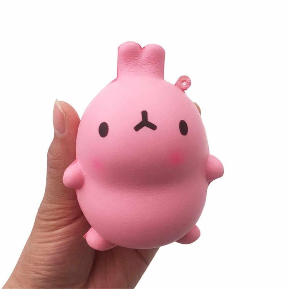 Симпатичные мягкие Squeeze игрушка кролик Squishy ароматические крем мультфильм кролик замедлить рост Kawaii Collection телефон ремешок Игрушки для девочек MA06d