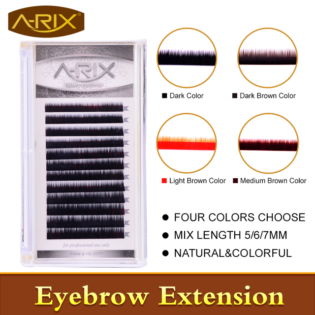 Aliexpress Buy New Arrival Eyebrow Extension 1pclot Faux Mink