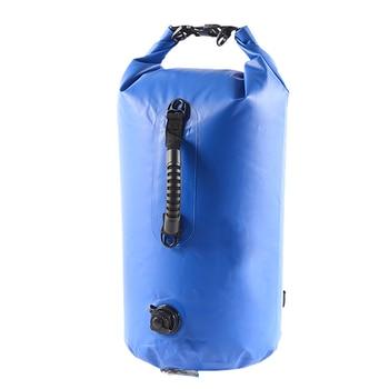 20L Waterproof Bag Backpack Surfing Outdoor Waterproof Backpack Swimming Snorkeling Detachable Strap Diving Storage Carrying Bag multifunctional waterproof outdoor drift pvc storage bag yellow 20l