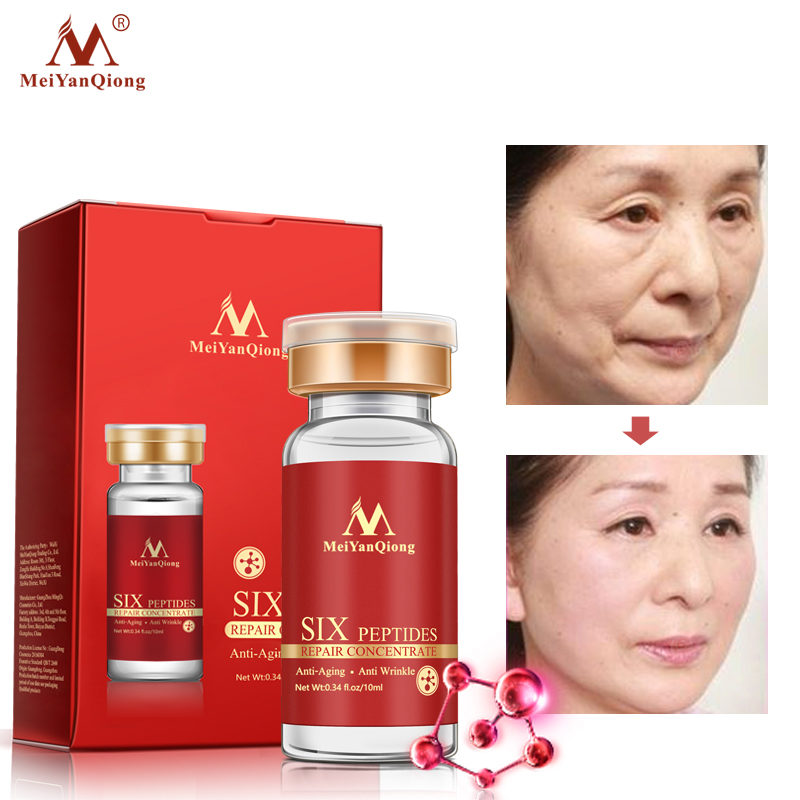 Argireline Six Peptides Repair Concentrate Rejuvenation Emulsion Anti Wrinkle Serum For Face Skin Care Products Anti aging Acid in Emulsion from Beauty Health