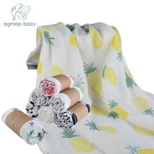 """Stor Storlek 47 """"* 47"""" Inch Baby Swaddle Andas Baby Spädbarn Muslin Swaddle Blanket Bäst för Car Seat Canopy Nursing Cover (1PCS)"""