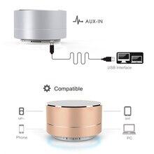 2018 Auto Car Wireless Bluetooth Speaker Car Computer Subwoofer Small Steel Gun Mobile Phone Mini Portable Stereo Phone Audio