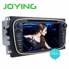 Double 2 Din Android 5.1 Quad Core 1024*600 Car DVD Player GPS Navi For Ford Focus Mondeo Galaxy 3G Audio Radio Stereo Head Unit