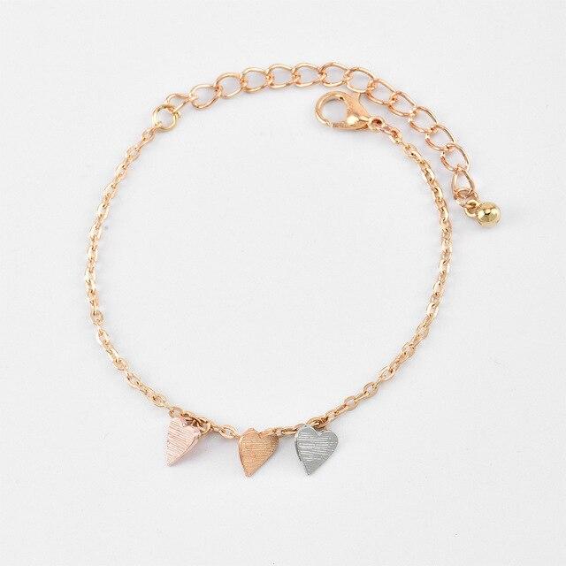 Bracelet esprit bohème coeur