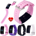 D21 Bluetooth Smart Band Wristband Heart Rate Monitor Fitness Tracker SmartBand Waterproof Sports Swim Bracelet for iOS Android