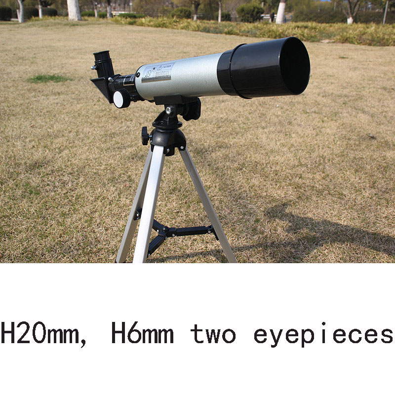 Top Quality Zoom HD Outdoor Monocular Space Astronomical Telescope With Portable Tripod Spotting Scope 360/50mm telescopic 20 60x70 zoom spotting scope monocular outdoor telescope with portable tripod monoculares professional bird animal telescope