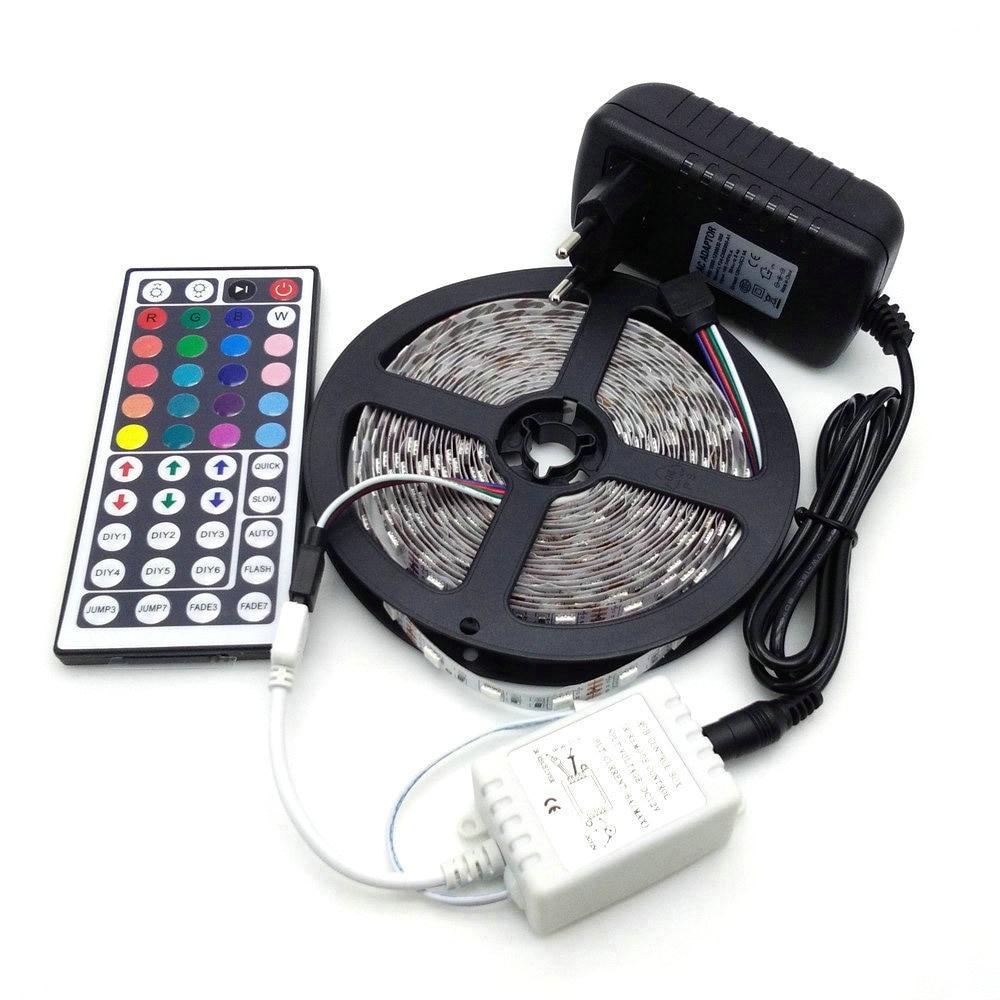 Lampă LED Strip 5050 RGB 5M 300 LED Lampă Flexibilă pentru Fâșie - Iluminat cu LED