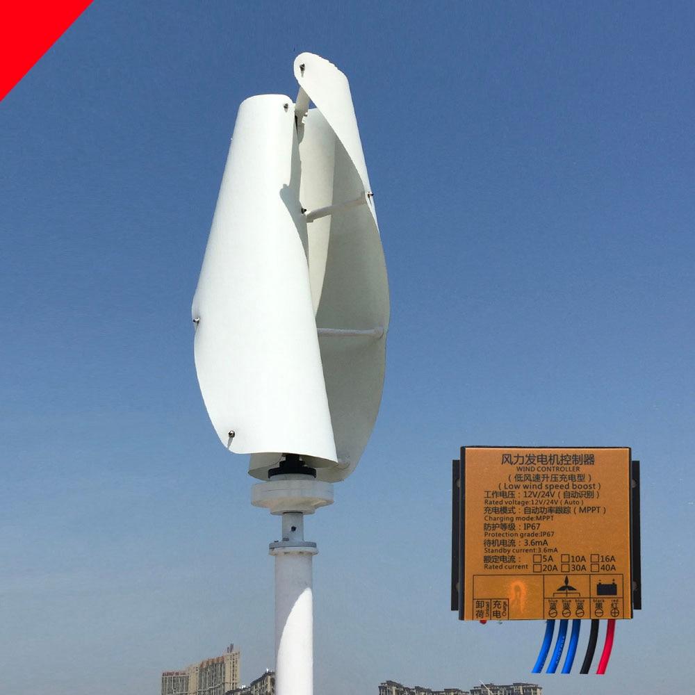 Buy 500w Permanent Magnet Generator Vertical Wind Turbine Diagram Hawt Horizontal V Vawt 2018 New Developed 300w 12v 24v Axis With
