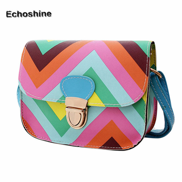 Shoulder Style cross Colorful Bag New Fashion Small body Women 2016 qHw64W