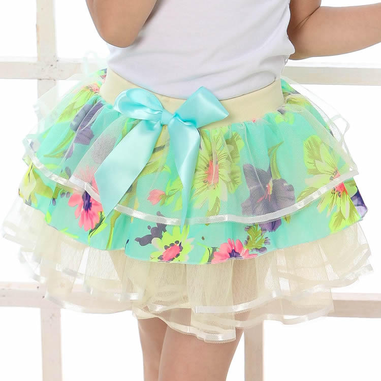 New Baby Girls Ruffle Bloomers TuTu Skirt Ball Gown Rose Red Fuffy Pettiskirt Baby Tulle Layered Children Clothing Set Outfit (2)
