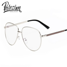 PATEZIM'S Vintage Aviator Sunglasses Women Brand Designer Transparent Glasses Men Superstar GG Ray 2016 oculo de sol feminino