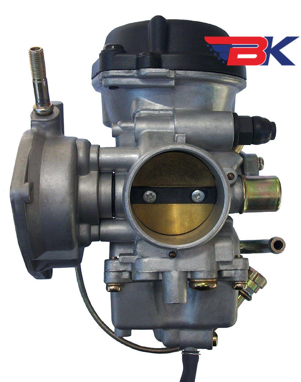 Carburetor for Suzuki LTZ400 Quadsport Kawasaki KFX400 Carb W//FUEL VALVE PETCOCK
