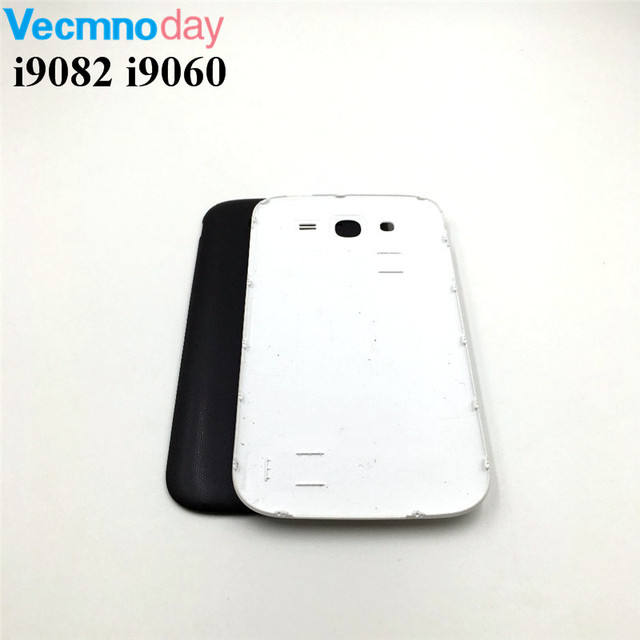 Vecmnoday For Samsung Galaxy Grand Duos GT-i9082 i9082 i9060 i9060i Battery Back Cover Rear Case Door Housing Replacement Parts
