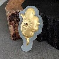 yu xin yuan Gold dinged with jade pendant Natural and tian yu ruyi necklace pendant men and women