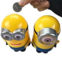 Minion Lovely 3D Minions Cartoon Figures Piggy Bank Money Box hucha Saving Coin Cent Penny Children Toy Baby toy piggy bank