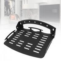 Универсальный 18,6 кг черный Регулируемый Стальной настенный кронштейн набор верхней коробки настенный кронштейн плоская панель поддержка ...