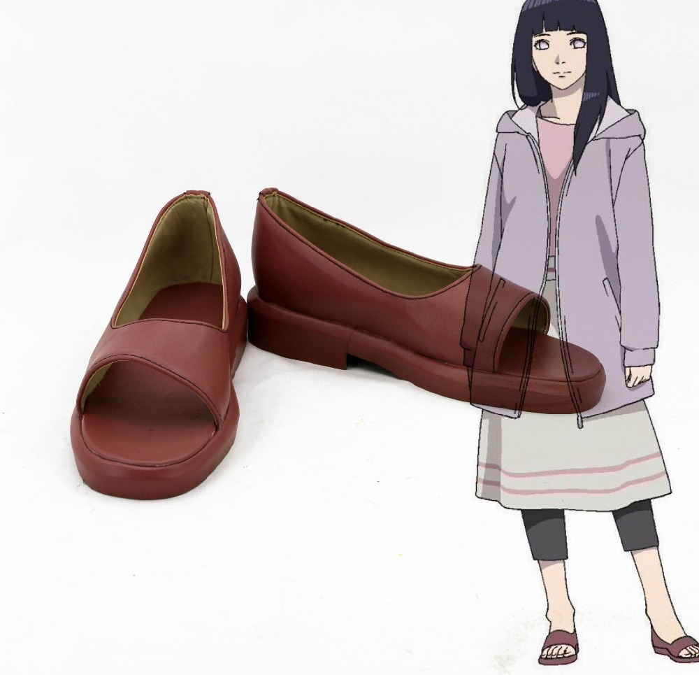 New Naruto The Last Hyuga Hinata Cosplay shoes Anime boots Custom-made