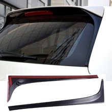 free shipping Piano paint Spoiler Side Wing Lip for Volkswagen Golf 7 MK7 Standard 2014 2015 2016 2017 2018 not fit for r gti цены онлайн