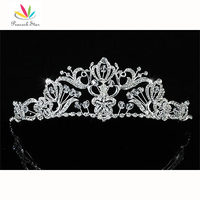 Bridal Wedding Prom Pageant Vintage Style Austrian Crystals Handmade Tiara CT1526