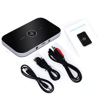 2017 Hifi 2 In 1 Bluetooth 4 1 Audio Transmitter Receiver Wireless A2DP Bluetooth Audio Adapter