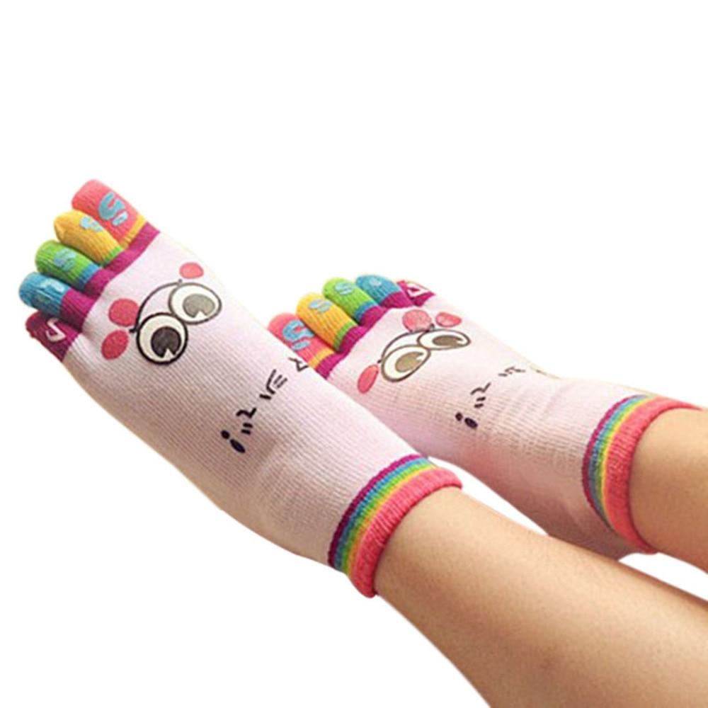 1 par niños tobillo Calcetines algodón cinco dedos calcetín japonés ...
