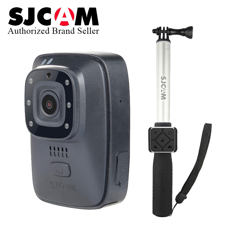 все цены на 2018~ SJCAM A10 (M40) Portable Body Camera IR-Cut Night Vision Laser Positioning Action Camera Wearable Infrared Security Camera онлайн