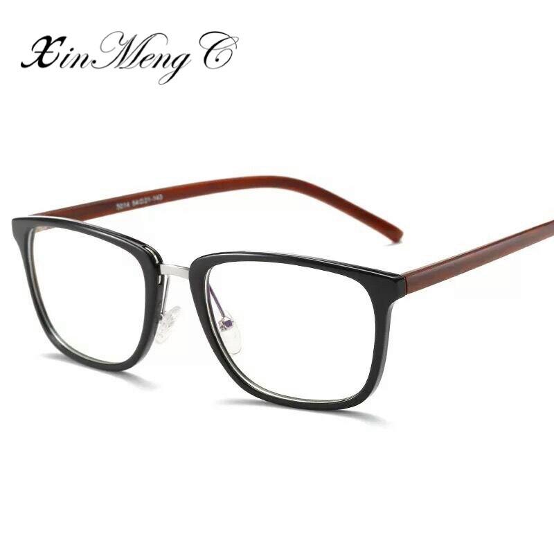 194f55d807 XinMengC Anti Blue Ray Computer Glasses High Quality TR90 Frame Eyeglasses  Unisex Vintage Nonprescription Fake Glasses -in Eyewear Frames from Apparel  ...