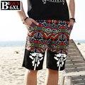 Tipo grande tienda verano para hombre pantalones cortos más el tamaño XXXL 4XL 5XL 6XL 2016 nueva verano hasta la rodilla Boardshorts Beach Shorts hombres 498 corta