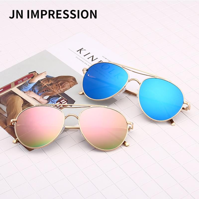 2018 J N Retro Round Sunglasses Women Brand Designer Sun Glasses for Women Alloy Mirror Sun Glasses Female Summer Style W3154