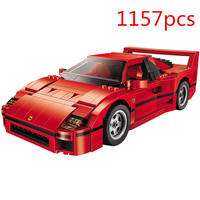 legoinges Technic Series 21004 F40 sports car Building Blocks Set Bricks Educational Toys for Kids gifts Compatible with 10248