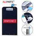100% de exibição original para asus zenfone 2 ze550ml ze551ml ze550kl ze500cl ze500kl lcd com tela de toque digitador assembléia