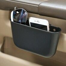 Dewtreetali Car Storage Box plastic Auto Car Seat Gap Pocket Catcher Organizer Leak-Proof Storage Box Auto Bag Container