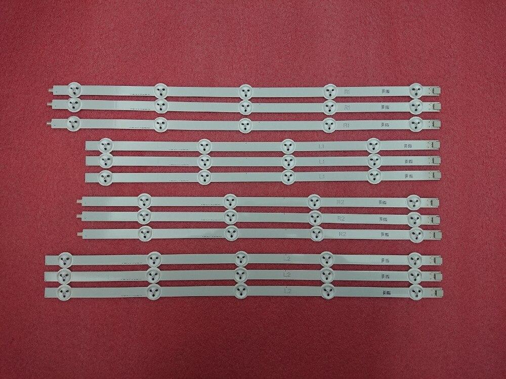New Original 5set 60pcs LED backlight strip for LG 47LA620 47LN540 6916L 1259A 6916L 1260A 6916L