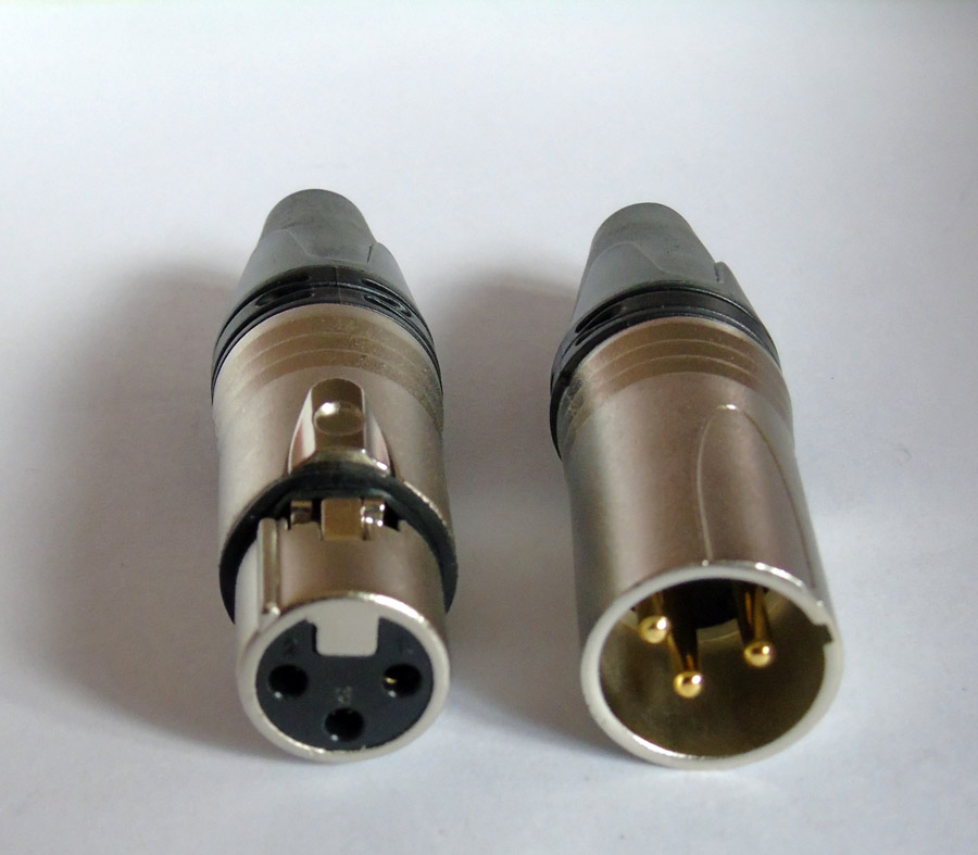 200pcs lot Similar NC3MXX NC3FXX Male Female 3 Pin XLR Connector with 100 PCS NC3MXX 100PCS