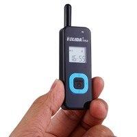 2 Stücke Kleinste Mini Walkie Talkie 22CH 2,5 Watt UHF 430-470 Mhz PMR446 VOX LCD Display Ham Radio FM Transceiver Zweiwegradio