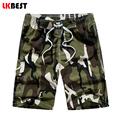 LKBEST New Summer Beach Men Shorts Casual Mens Board Shorts Camouflage Designer men swimwear shorts plus size M-5XL  N1706