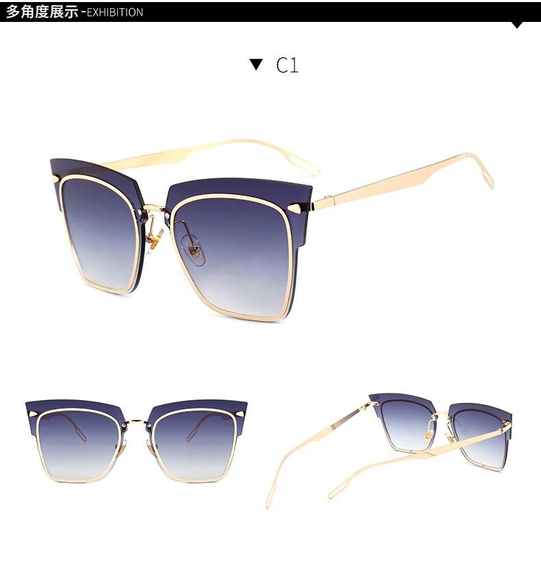 2018 nuovo KD90-106 senza telaio occhiali da sole Francia Parigi fashion designer occhiali personalità Europa e gli occhiali da sole sfumati