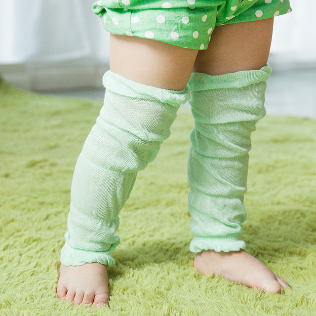 2016 Summer thin section of infant boys and girls cotton kneepad breathable mesh  anti-mosquito sunscreen