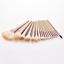 18Pcs Makeup Brushes Set Eye Shadow Foundation Eyeliner Eyelash Eyebrow Lip Make Up Brush Portable Cosmetic Beauty Tool Kit цена в Москве и Питере