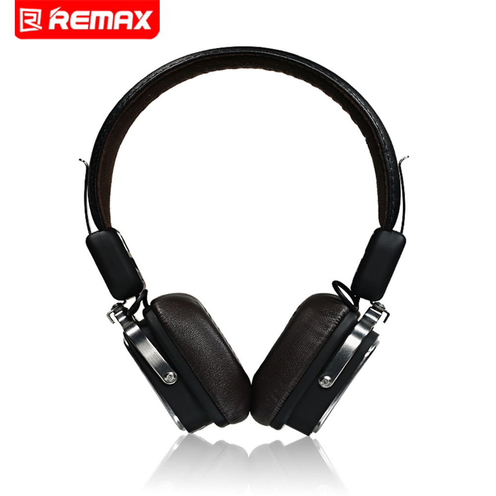 лучшая цена Remax 200H Bluetooth Wireless Headphones Music Earphone Stereo Foldable Headset Handsfree Noise Reduction For iPhone xiaomi HTC