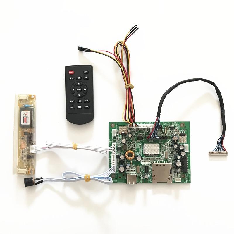 Media player Board for 1024x768 G150XG03 V0 V1 V2 V3 2CCFL Monitor Kit 15 inch lcd panel with USB SD c065gw01 v0 c065gw01 v1 lcd display screens