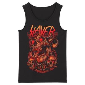 Image 3 - Bloodhoof Slayer Death Metal Heavy Metal HardMetal Deathcore  Mens Top Tank Tops Asian Size