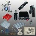 Nueva Llegada 1 Unidades Máquina Pistola Equipo Conjunto Completo Kit de Tatuaje fuente de Alimentación Al Por Mayor 1100713 litA