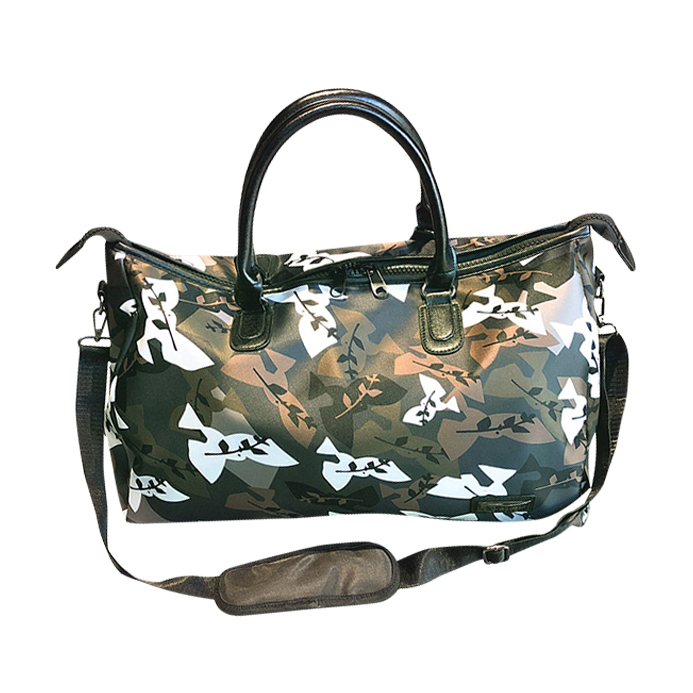 Oxford Waterproof High Quality Camouflage Womens Shoulder Traveling Bag Large Capacity Weekend Duffle Bag Men 30%OFF T512
