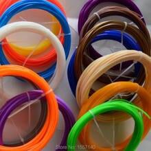 SENHAI3D 20 Colors 10M 3D Filament ABS 1.75mm For 3D Printer 3D pen