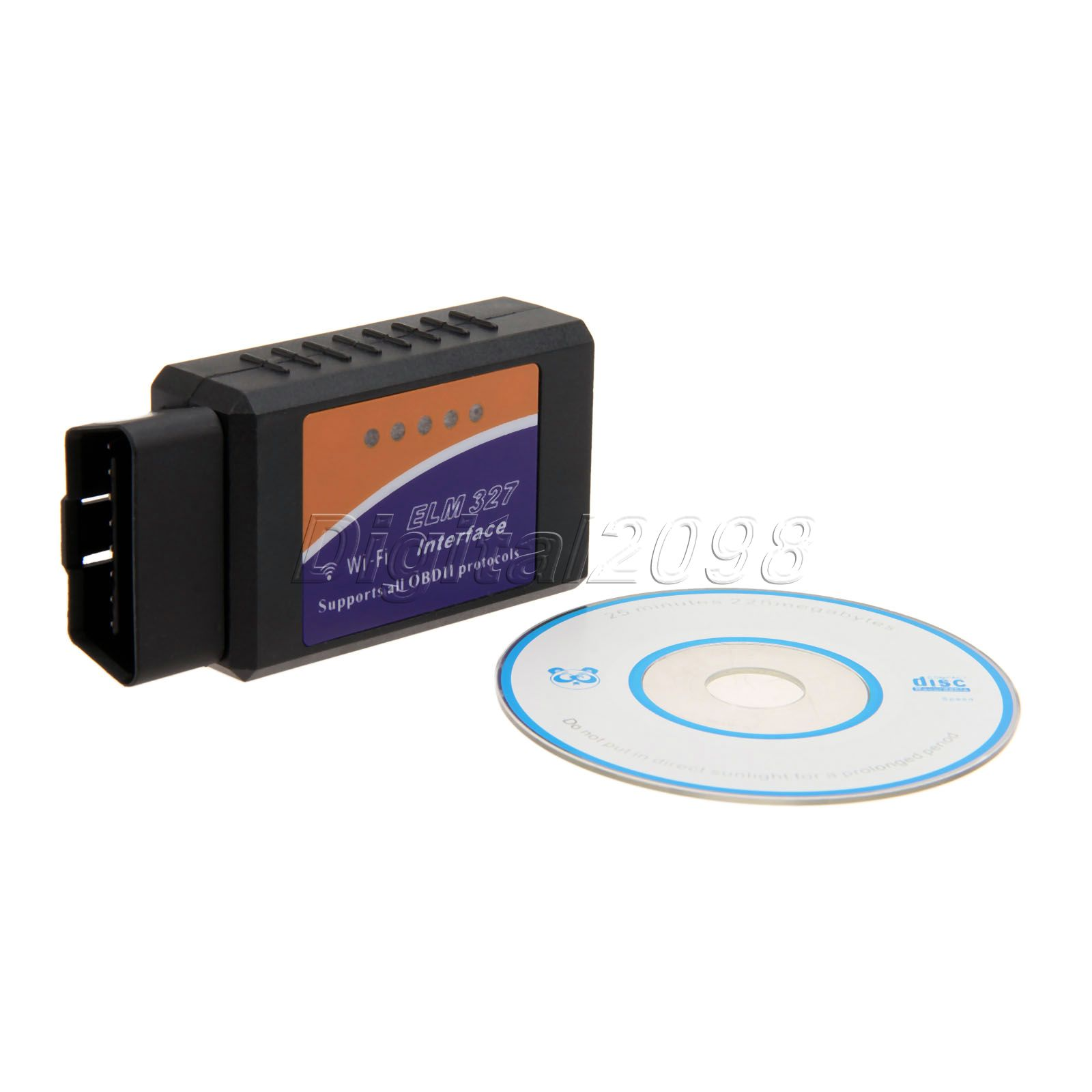 Elm327 v1 5 obd2 can bus wifi car auto diagnostic interface scanner elm 327 obd ii support android ios pc system diagnostic tool